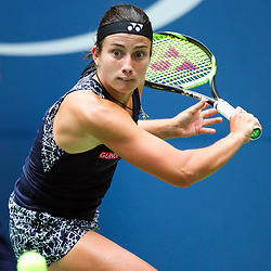 Anastasija Sevastova during day 7 of the Us Open 2017 at USTA Billie Jean King National Tennis Center on September 3, 2017 in New York City. (Photo by Marek Janikowski/Icon Sport)