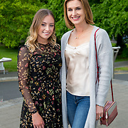 11.05. 2017.                                                 <br /> Over 20 leading Irish and international fashion media and influencers converged on Limerick for 24 hours on, Thursday, 11th May for a showcase of Limerick's fashion industry, culminating with Limerick School of Art & Design, LIT, presenting the LSAD 360° Fashion Show, sponsored by AIB.<br /> Pictured at the event were, Michelle Newman and Roxanne Parker. Picture: Alan Place