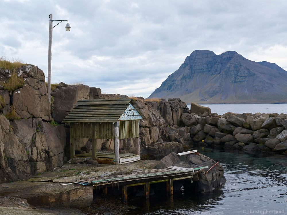 From Gjögur fishing village in Árneshreppur, Strandir area in Northwest Iceland.