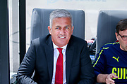 Switzerland Head Coach Vladimir Petkovic during the UEFA Nations League 3rd place play-off match between Switzerland and England at Estadio D. Afonso Henriques, Guimaraes, Portugal on 9 June 2019.