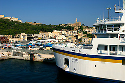 MALTA GOZO MGARR 23JUL06 - General view of Mgarr harbour and ferry port on Gozo...jre/Photo by Jiri Rezac..© Jiri Rezac 2006..Contact: +44 (0) 7050 110 417.Mobile:  +44 (0) 7801 337 683.Office:  +44 (0) 20 8968 9635..Email:   jiri@jirirezac.com.Web:    www.jirirezac.com