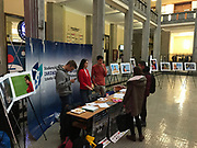 Poland, Warsaw - 2017 December 01: Photo Exhibition &quot;Big Blue&quot; by &copy; Adam Nurkiewicz at SGH - The Warsaw School of Economics on December 01, 2017 in Warsaw, Poland.<br /> <br /> Mandatory credit:<br /> Photo by &copy; Adam Nurkiewicz<br /> <br /> Adam Nurkiewicz declares that he has no rights to the image of people at the photographs of his authorship.<br /> <br /> Picture also available in RAW (NEF) or TIFF format on special request.<br /> <br /> Any editorial, commercial or promotional use requires written permission from the author of image.
