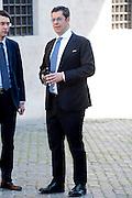 2013/04/19 Roma, arrivo dei grandi elettori in Parlamento, per la terza giornata di votazioni per l'elezione del Presidente della Repubblica. Nella foto Giuseppe Scopelliti.<br /> Rome, arrivals of electors to Parliament, for the second election day of the President of the Republic. In the picture Giuseppe Scopelliti - &copy; PIERPAOLO SCAVUZZO
