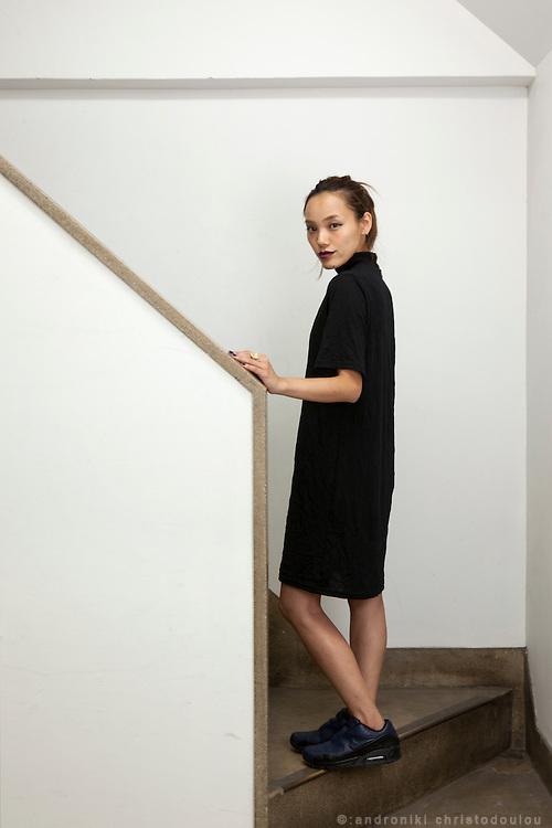 Satomi, a Japanese photogrpher in Tokyo