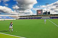 DEN HAAG - Het GreenFields Stadion naast het het Kyocera Stadion. Het GreenFields Stadion zal tijdens het WK hockey als tweede veld dienst doen van 31 mei tot en met 15 juni. COPYRIGHT ROBIN UTRECHT
