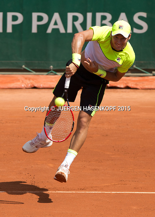 Dusan Lajovic (SRB)<br /> <br /> Tennis - French Open 2015 - Grand Slam ITF / ATP / WTA -  Roland Garros - Paris -  - France  - 27 May 2015.