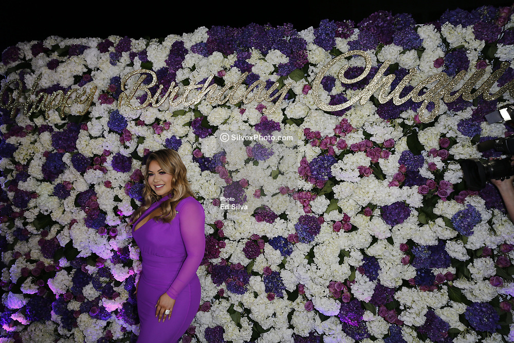 LOS ANGELES, CA - JUNE 27: Chiquis Rivera celebrates her birthday at Don Chente Bar and Grill on Tuesday June 27, 2017, in downtown Los Angeles, California. Byline, credit, TV usage, web usage or linkback must read SILVEXPHOTO.COM. Failure to byline correctly will incur double the agreed fee. Tel: +1 714 504 6870.