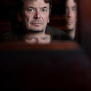 Ian Rankin, author. Edinburgh. 20 Oct 2015. © Photo by Tina Norris 07775 593 830 All fees payable to Tina Norris. No unauthorised use including web use.