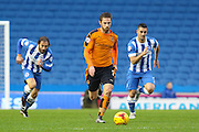Wolverhampton Wanderers midfielder James Henry (7) on the ball during the Sky Bet Championship match between Brighton and Hove Albion and Wolverhampton Wanderers at the American Express Community Stadium, Brighton and Hove, England on 1 January 2016. Photo by Phil Duncan.