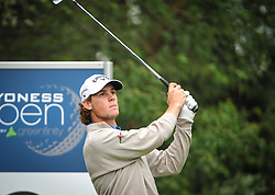 05.06.2014, Country Club Diamond, Atzenbrugg, AUT, Lyoness Golf Open, im Bild Thomas Pieters (BEL) // Thomas Pieters (BEL) in action during the Austrian Lyoness Golf Open at the Country Club Diamond, Atzenbrugg, Austria on 2014/06/05. EXPA Pictures © 2014, PhotoCredit: EXPA/ Sascha Trimmel