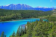 Emerald Lake, Carcross, Yukon Territory, Canada