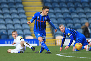 Zach Clough shoots during the EFL Sky Bet League 1 match between Rochdale and Coventry City at Spotland, Rochdale, England on 9 February 2019.