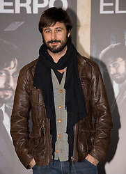 Hugo Silva attends the 'El Cuerpo' photocall at the Complutense University, Madrid, Spain, December 3, 2012. Photo by Oscar Gonzalez / i-Images...SPAIN OUT
