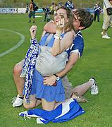2009. June, 6th. Partido de segunda división A disputado entre el Girona F.C. como equipo local y el Tenerife. El Tenerife logra el ascenso a primera división..COPYRIGHT: TONI VILCHES FOTOGRAFIA.