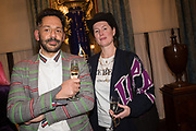 DARREN ARABIA-GANDER, COZETTE MCGREEVY, Stephen Jones private view for his exhibition at the Royal Pavilion, Brighton. 6 February 2019