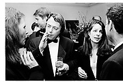 Christopher Hitchens: Carol . Washington Correspondents dinner. Washington. 1995. SUPPLIED FOR ONE-TIME USE ONLY> DO NOT ARCHIVE. © Copyright Photograph by Dafydd Jones 248 Clapham Rd.  London SW90PZ Tel 020 7820 0771 www.dafjones.com