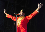 Jimmy Cliff legendary Reggae singer performs live at the House of Common festival, Clapham Common, London, Great Britain<br /> 26th August 2019