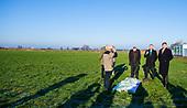 Koning Willem Alexander brengt werkbezoek aan Wageningen