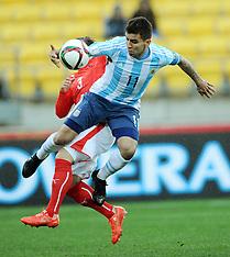 Wellington-Football, Under 20 World Cup, Argentina v Austria