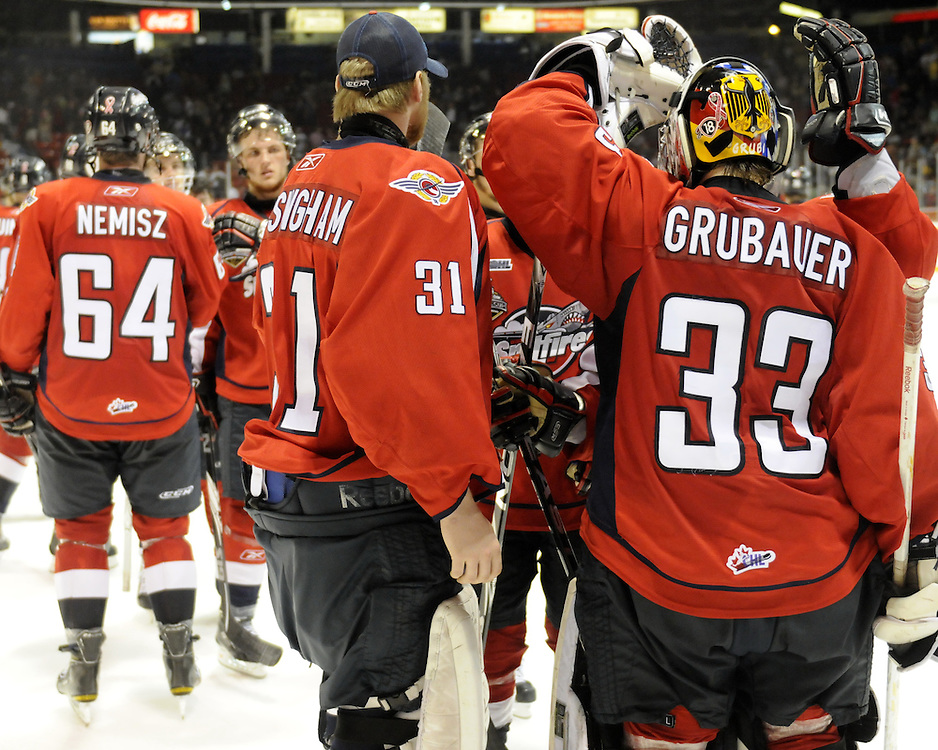 Game 4 of the 2010 MasterCard Memorial Cup in Brandon, MB on Monday May 17. Photo by Aaron Bell/CHL Images