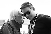 October 23, 2016: United States Grand Prix. Bernie Ecclestone and Jeff Gordon