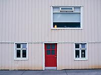 House detail. Siglufjörður North Iceland.