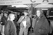 Linda, Her Brother and Sid at Camden Market, London, UK, 1980s.