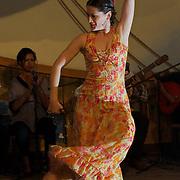 Salsa Dancers at Meson de La Flota restaurant. Havana, Cuba