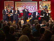 The Zion Harmonizers during the 100th performance of the Abita Springs Opry at Abita Springs Town Hall on September 21, 2019; photo ©2019, George H. Long