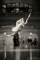 Dance As Art The New York Photography Project Black and White Grand Central Series with Sari Thaler