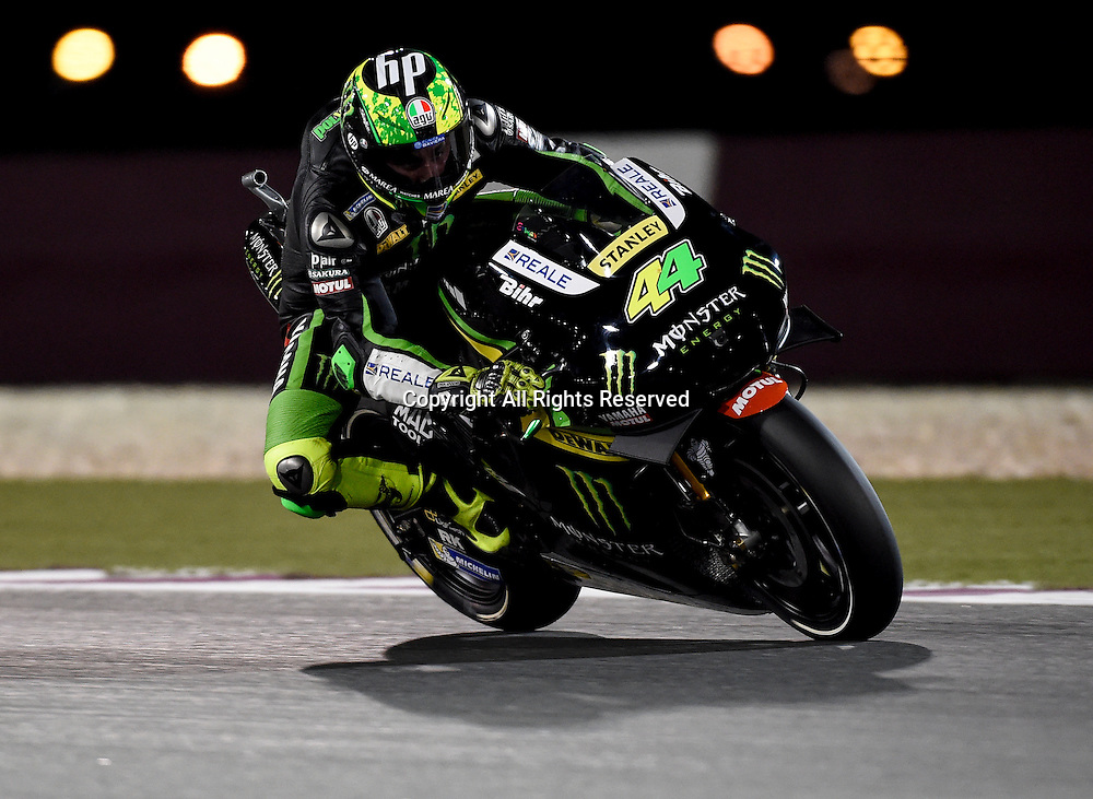 19.03.2016. Losail International Circuit, Doha, Qatar.Commercial Bank Grand Prix of Qatar. Pol Espargaro (Monster Yamaha Tech3)   during the qualifying sessions.