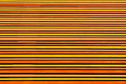 Multi colored facade of a Conference and auditorium El Batel, Cartagena, Spain, Europe