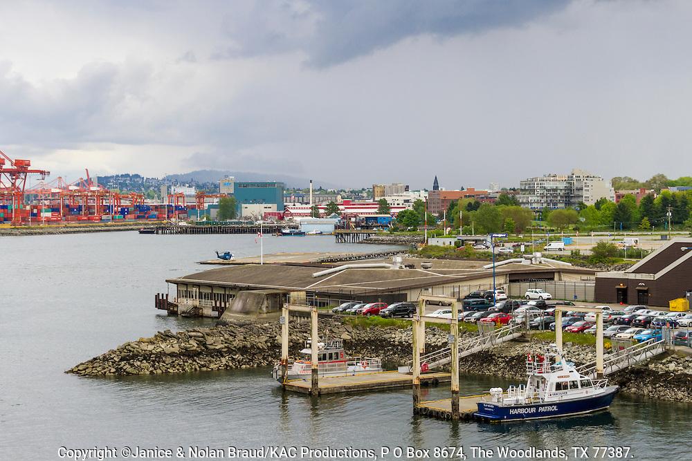 Vancouver Harbor in Vancouver, British Columbia, Canada.