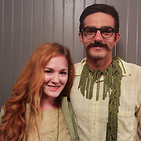 Isabel Zermani, left, and Rachid Zermani pose for a photo during the Green Party Sunday September 7, 2014 at City Stage Co. (Jason A. Frizzelle)