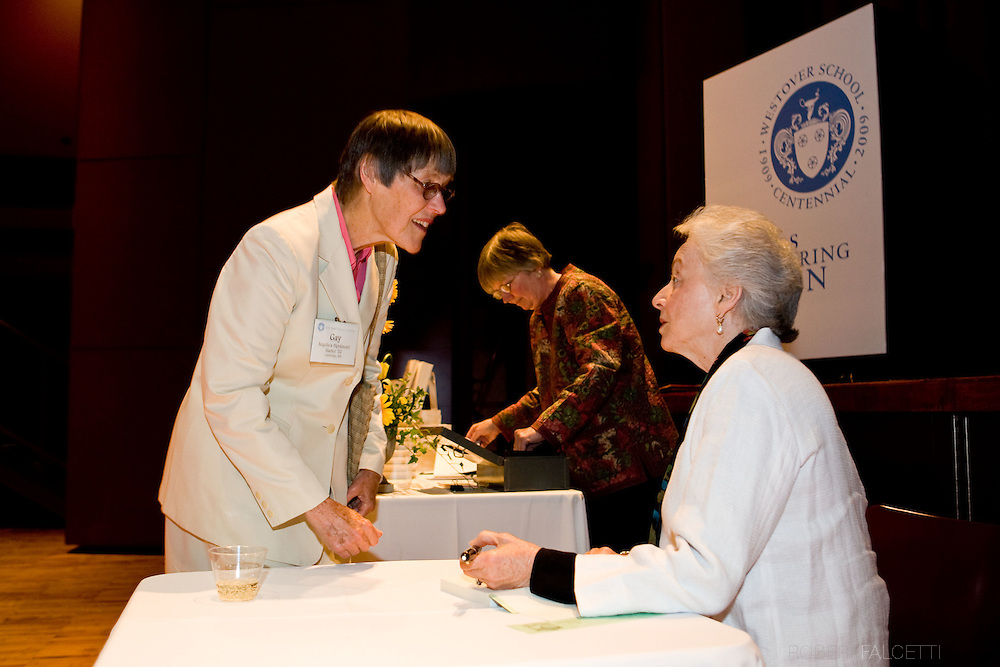 APR 24-26, 2009: The Westover School Founders Weekend. Former Vermont Governor Madeleine Kunin was the keynote speaker at the Westover School in Middlebury, Connecticut. The school is celebrating it's 100th year....