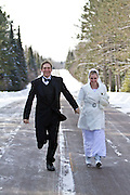 Kate and Derrik Winter Wedding Photos Kate and Derrik