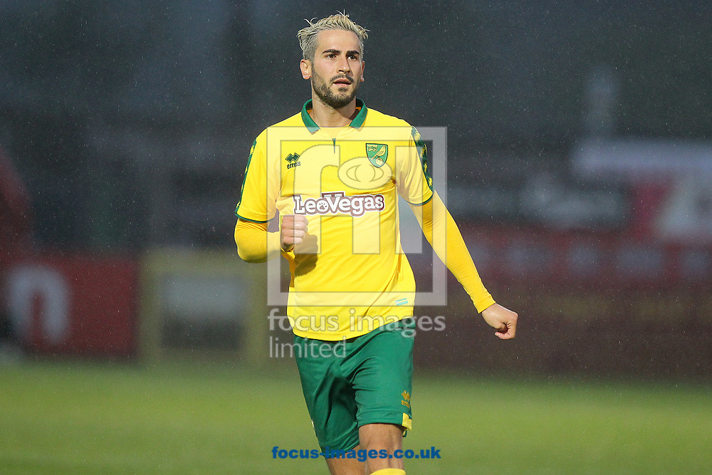 Mario Vrancic of Norwich during the Pre-season Friendly match at the Lamex Stadium, Stevenage<br /> Picture by Paul Chesterton/Focus Images Ltd +44 7904 640267<br /> 11/07/2017