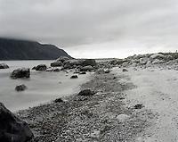 Utsikt mot Alnes fra Giske.<br /> Foto: Svein Ove Ekornesv&aring;g