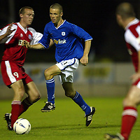 St Johnstone v Brechin....26.08.03 Bells Challenge Cup<br />