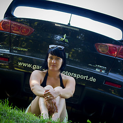 20120802: SLO, Auto sport - Slovenian rally driver Asja Zupanc