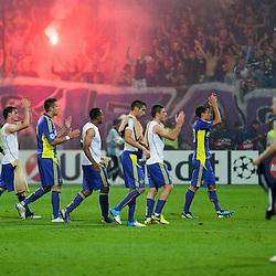 20120828: SLO, Football - Champions League Playoff, NK Maribor vs NK Dinamo Zagreb