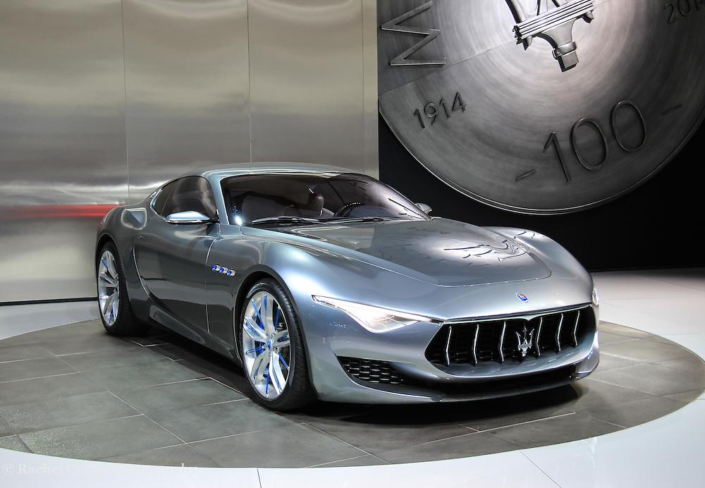 &quot;Maserati Alfieri Reflections&quot;<br /> <br /> The Beautiful Maserati Alfieri!