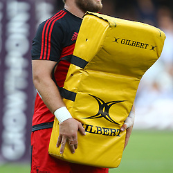DURBAN, SOUTH AFRICA - MARCH 26: Owen Franks of the BNZ Crusaders during the Super Rugby match between Cell C Sharks and BNZ Crusaders at Growthpoint Kings Park on March 26, 2016 in Durban, South Africa. (Photo by Steve Haag)<br /> <br /> images for social media must have consent from Steve Haag