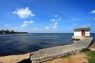 Pier in Puerto Esperanza, Pinar del Rio, Cuba.