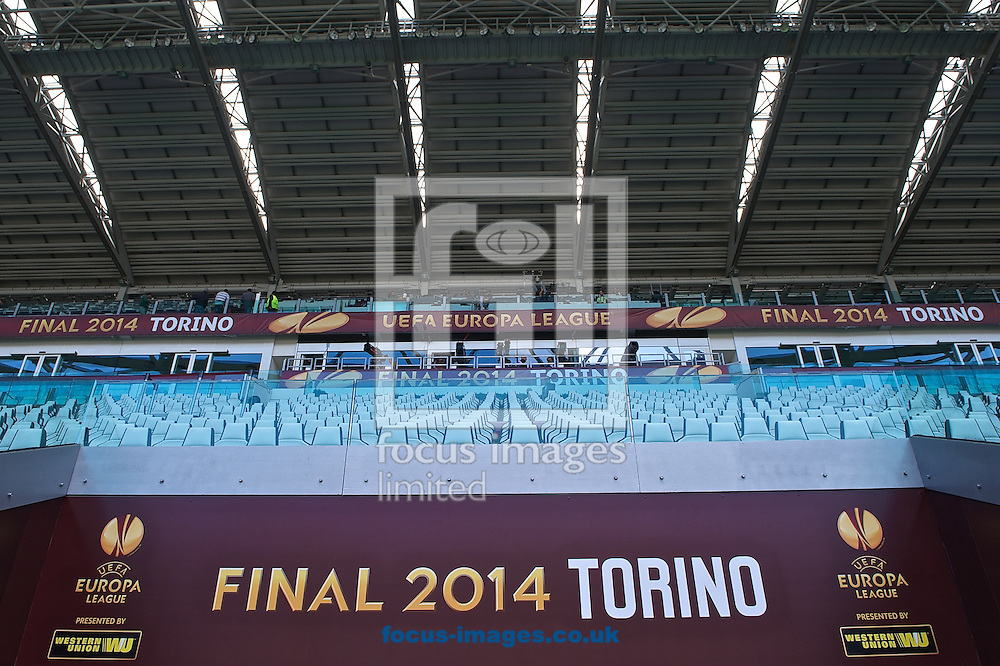 A general view of Juventus Stadium, Turin<br /> Picture by Ian Wadkins/Focus Images Ltd +44 7877 568959<br /> 13/05/2014