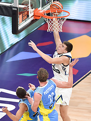 Vlatko Cancar of Slovenia during basketball match between National Teams of Slovenia and Ukraine at Day 10 in Round of 16 of the FIBA EuroBasket 2017 at Sinan Erdem Dome in Istanbul, Turkey on September 9, 2017. Photo by Vid Ponikvar / Sportida