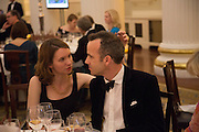 SARAH DOORLEY; JEM SANDFORD; , The National Trust for Scotland Mansion House Dinner. Mansion House, London. 16 October 2013