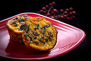 Recipes/Food from the FAPC Favorites Recipe Book.<br /> Spinach &amp; Sausage Quiche