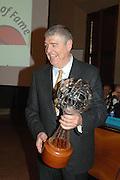 """Bologna - 11/02/2007 -  Italia Basket Hall of Fame at Cappella Farnese in Palazzo D'Accursio arwarded Gianfranco """"Dado"""" Lombardi"""