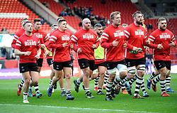 Bristol Bears players finish their warm up- Mandatory by-line: Nizaam Jones/JMP - 19/01/2019 - RUGBY - Ashton Gate Stadium - Bristol, England - Bristol Bears v Enisei-STM - European Rugby Challenge Cup